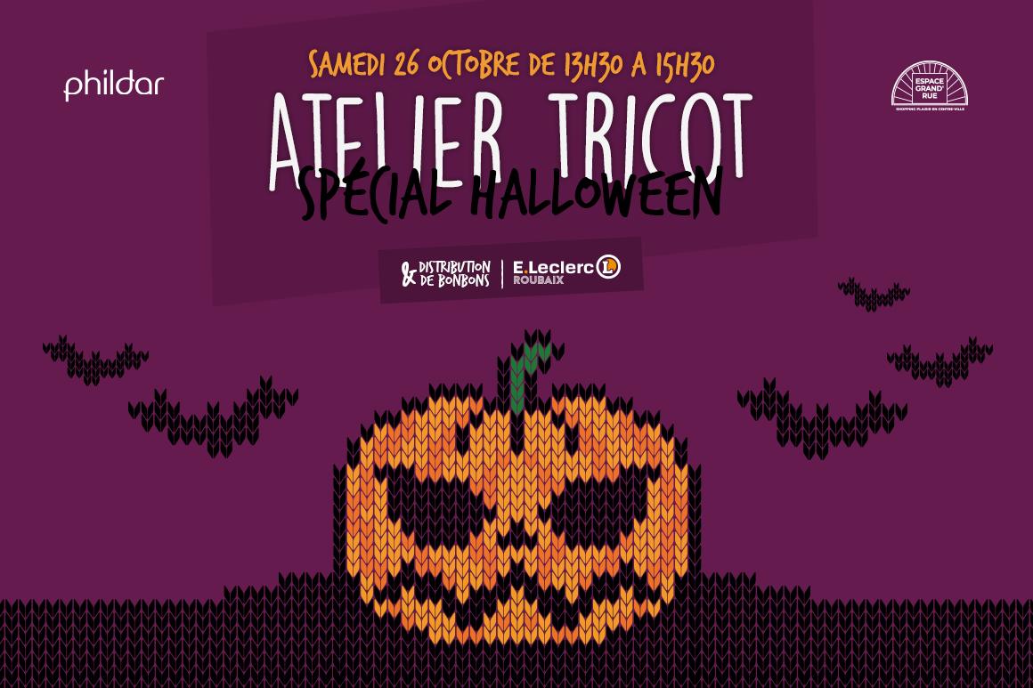 Animation Tricot Halloween